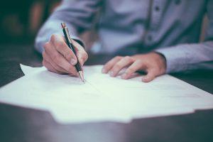 jak napisać wniosek o odrzucenie spadku - wzór wniosku